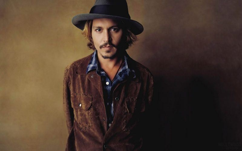 Johnny Depp acteur chapeau wallpaper