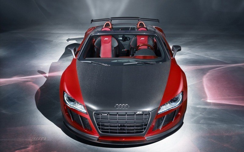 Audi R8 preparateur ABT wallpaper