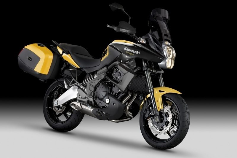 Moto Kawasaki Versys 650 Tourer Fond Ecran Hd