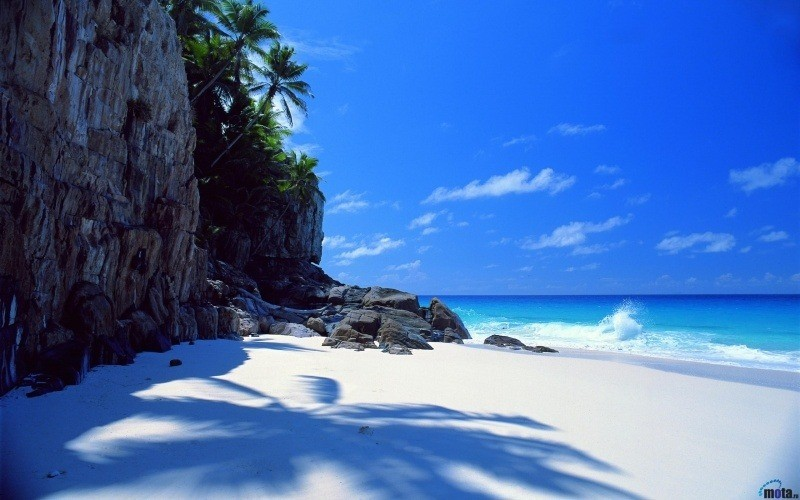 wallpaper plage beach sable blanc