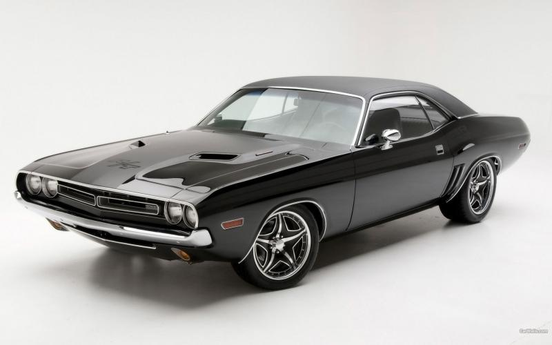 wallpaper Dodge Challenger RT 1971