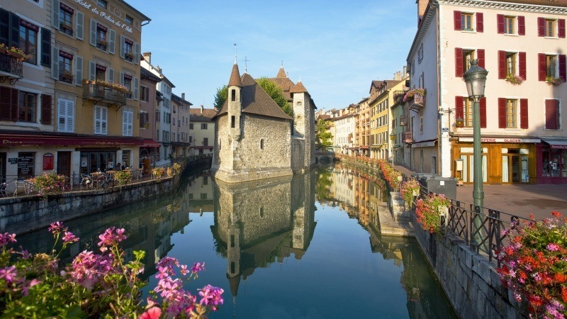 Annecy vieille ville France