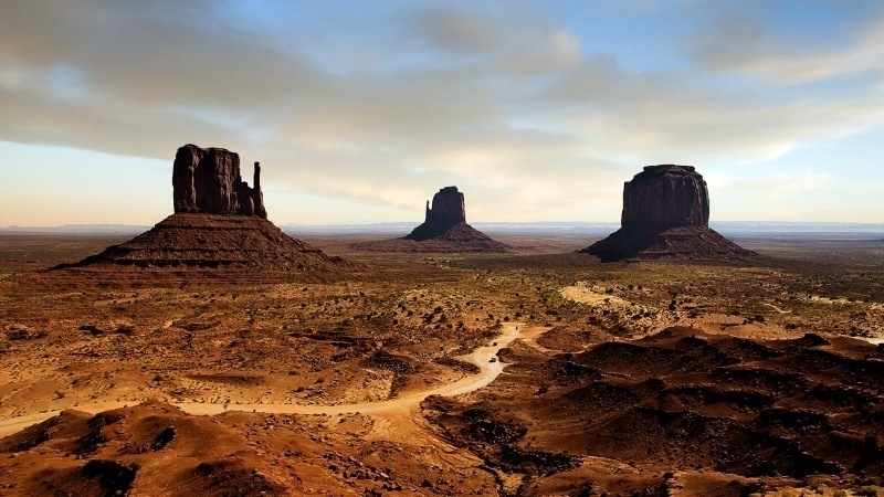 Monument Valley Usa Fond Ecran Hd