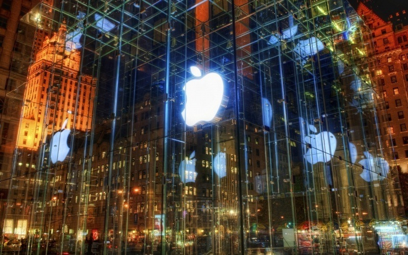 Shop Apple New York wallpaper