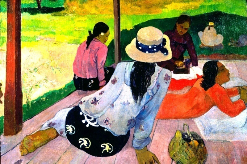 Paul gauguin la sieste