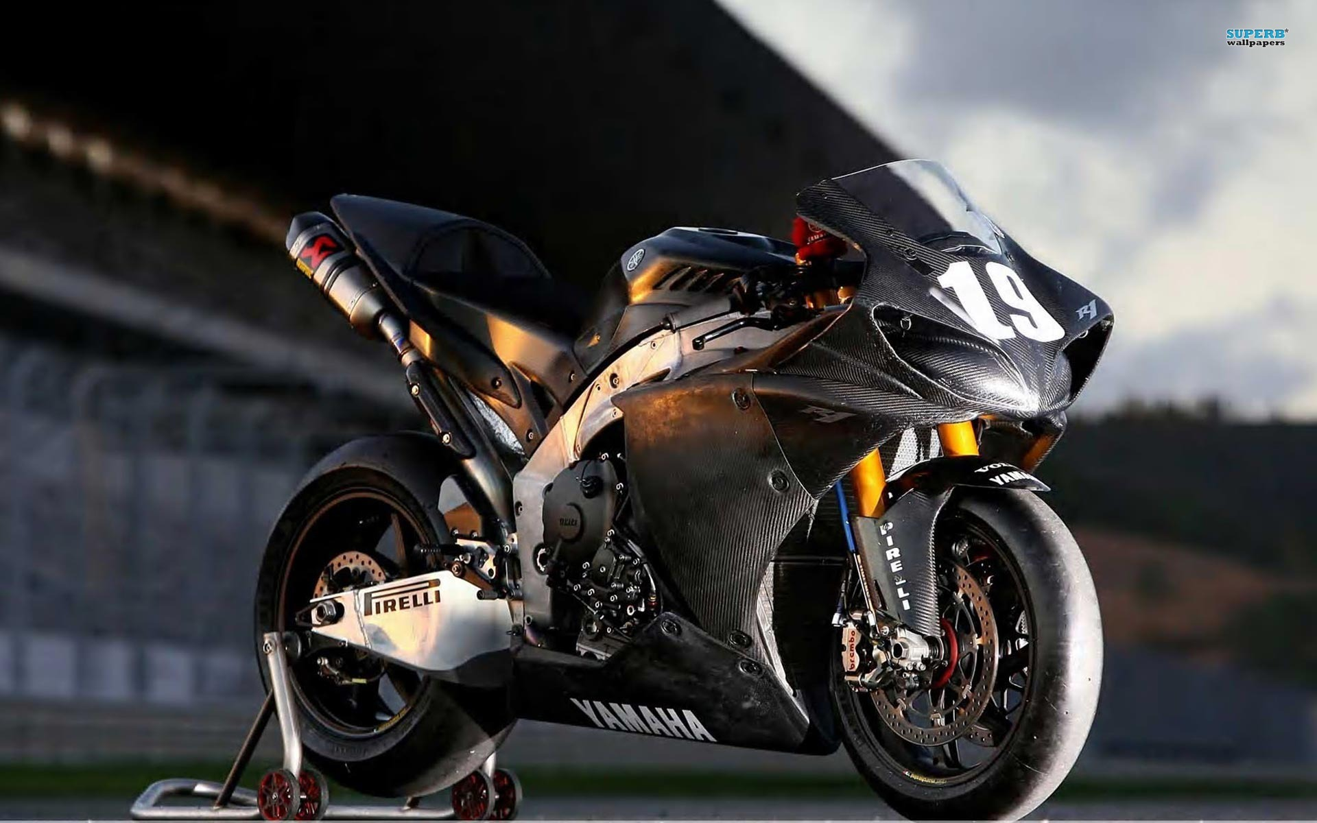 Photo Moto Yamaha Motard Wallpaper Fond Ecran Hd