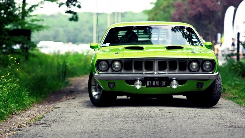plymouth muscle car Barracuda 1970