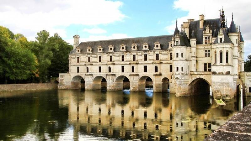 Chateau De Chenonceau Fond Ecran Hd