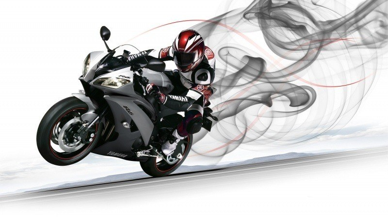 photo moto yamaha motard wallpaper