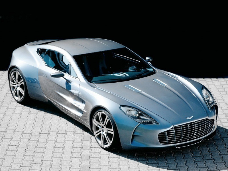 Aston Martin grise photo