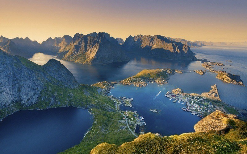 �les Lofoten Norv�ge photo