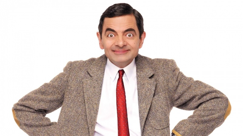 Mr Bean Rowan Atkinson photo