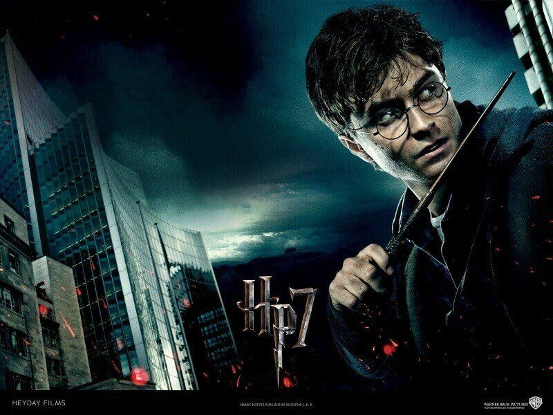 film cin�ma Harry Potter 7 wallpaper