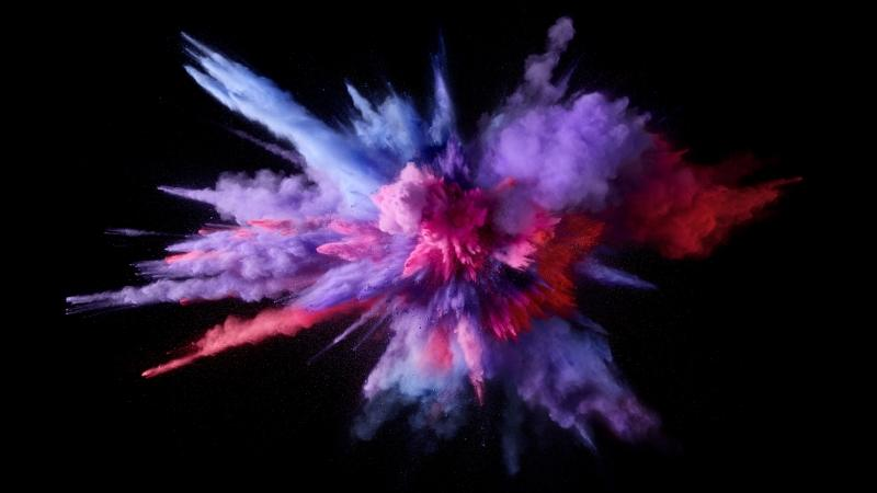 explosion de couleur photo