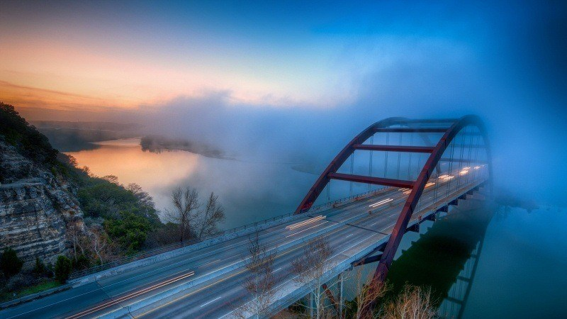 pont Pennybacker bridge Texas USA