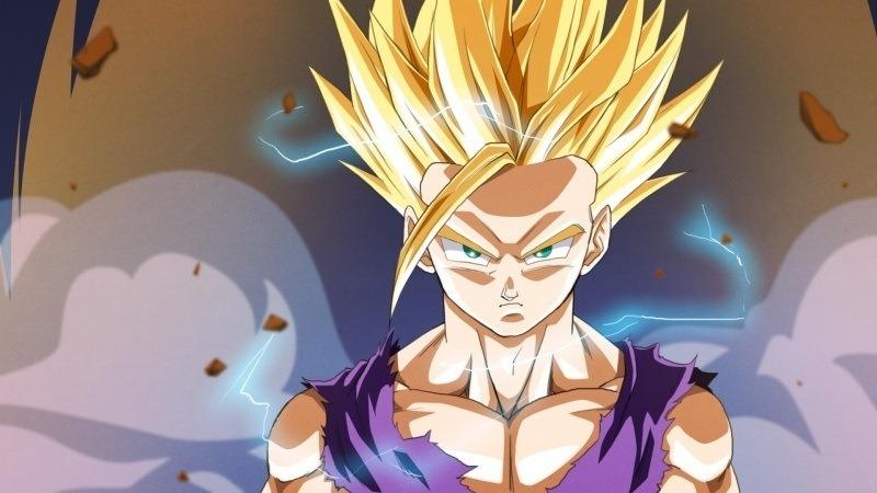 Dragon Ball Z Gohan Fond Ecran Fond Ecran Hd