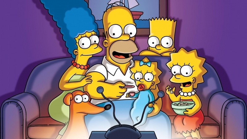 The Simpsons série TV dessin animé cartoon fond d'écran image wallpaper hd