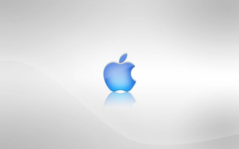 Wide Apple wallpaper