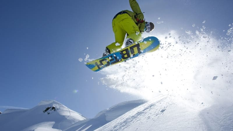 snowboarding photo wallpaper