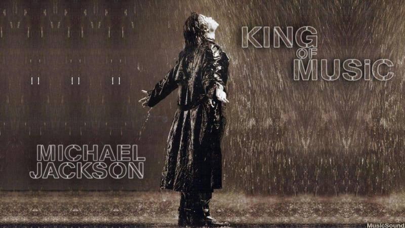 Michael Jackson king of music