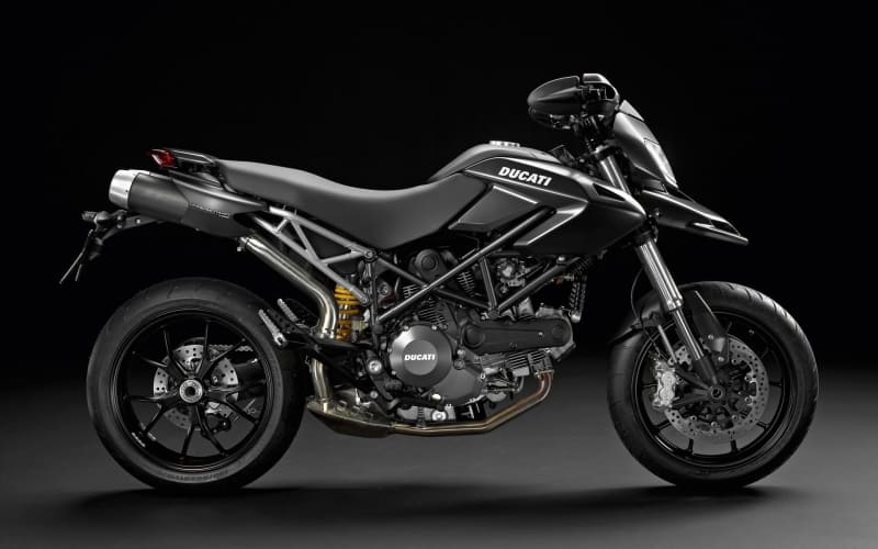 Ducati Hypermotard 796 black photo moto