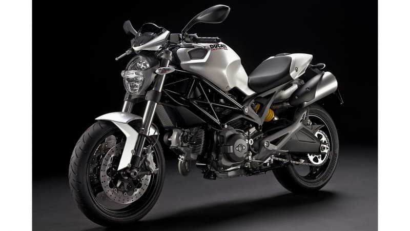 wallpaper moto Ducati Monster 696 2010