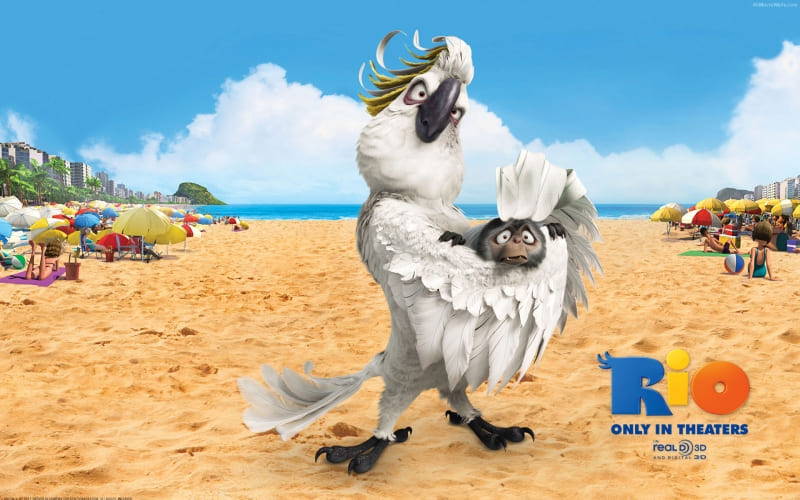 Rio movie 7 personnage