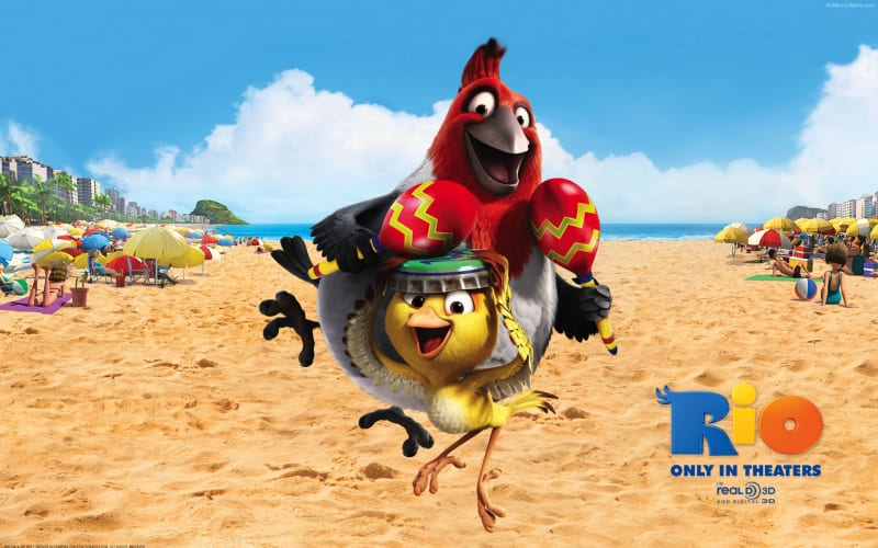 Rio movie dessin animé 3