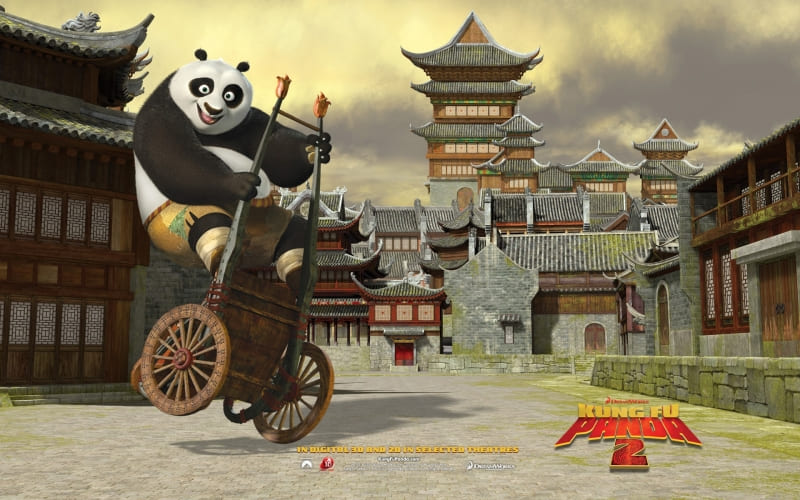 Kung Fu Panda 2  film wallpaper