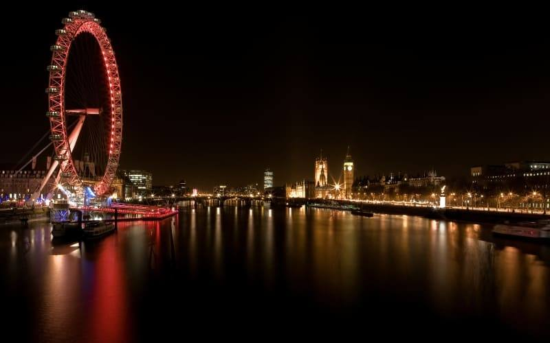 Londres photo nuit Tamise London wallpaper