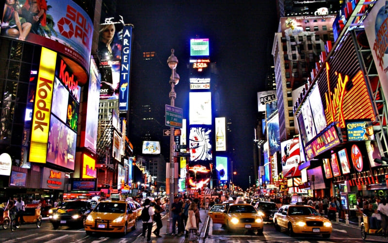 photo New York Time Square by HairJay wallpaper