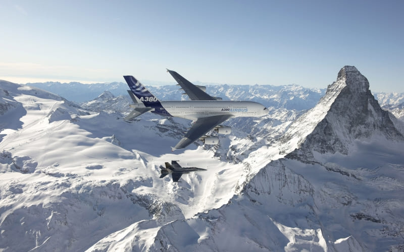 photo avion A380 Airbus wallpaper