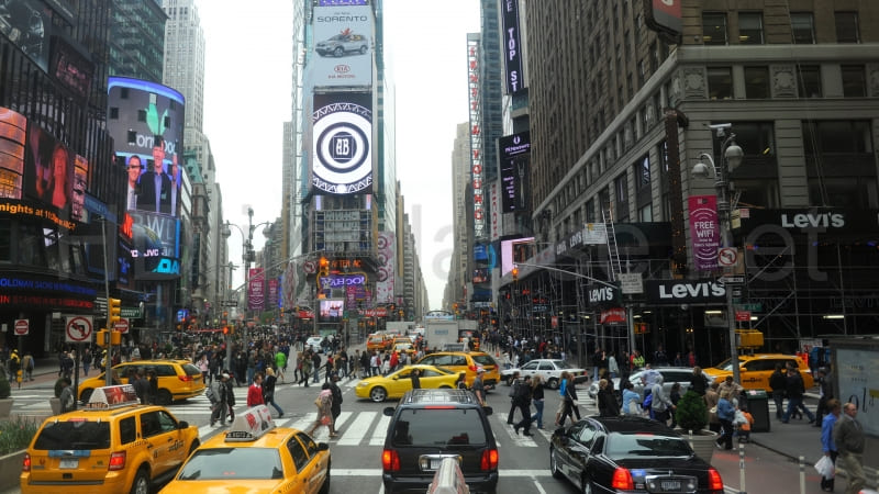 photo New York Time Square wallpaper