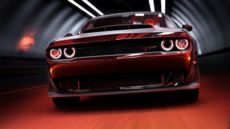wallpaper Dodge Challenger SRT DEMON image