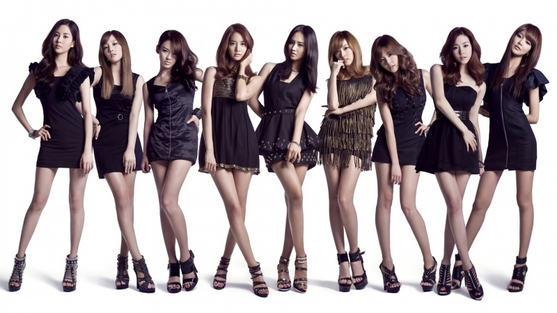 K POP girls generation fond ecran HD wallpaper