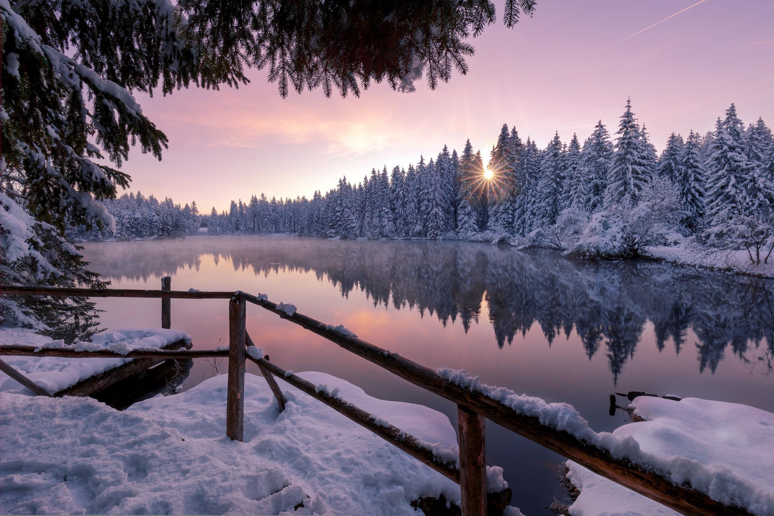 Lac Fond Ecran Hd