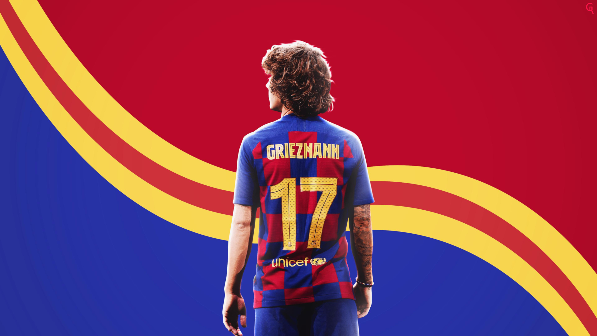 Footballeur Antoine Griezmann FC Barcelone:: Fond Ecran HD