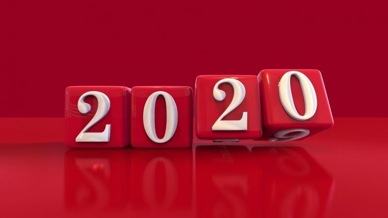 Image Nouvel An 2020 Fond Ecran Hd