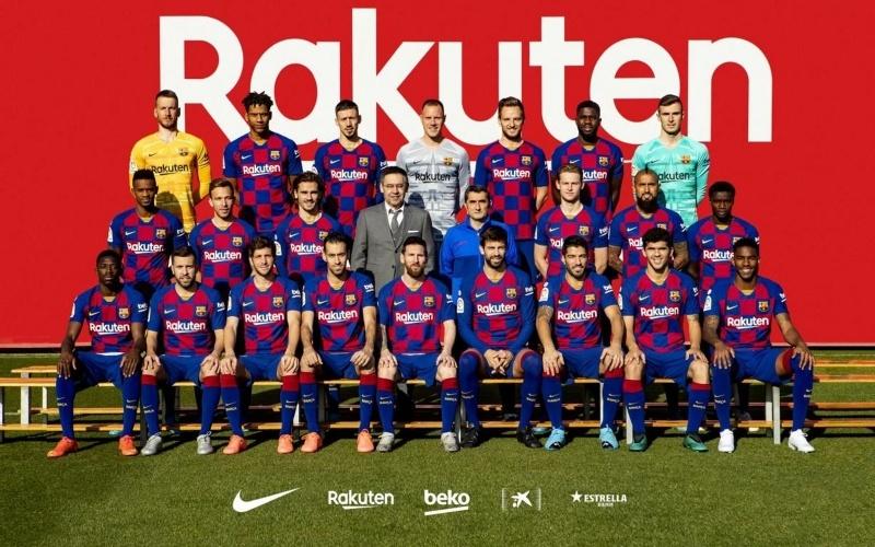 Fc Barcelone Equipe Football 2019 2020 Fond Ecran Hd