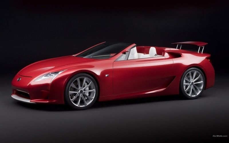Automobile Lexus LFA cabriolet wallpaper