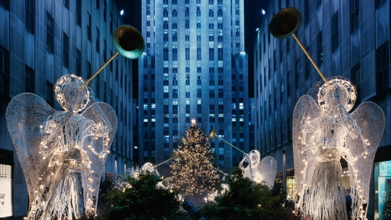 New York Christmas Rockefeller